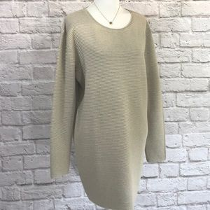 Wilfred Dresses - Wilfred Cotton/silk/cashmere sweater dress M